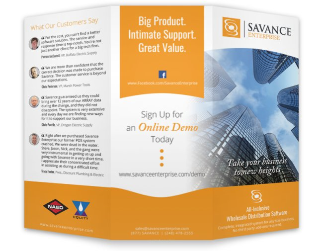 Savance Enterprise Brochure