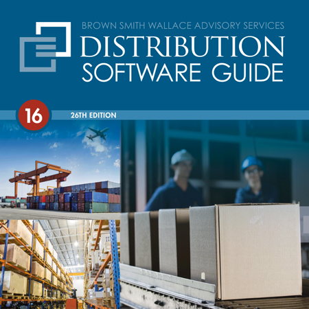 Distribution Software Guide 2016