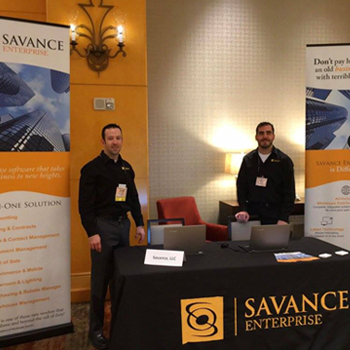 Savance's Steve Bardocz and Jason Plasencia at NAED West 2016